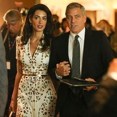 George Clooney and pregnant wife Amal Clooney to avoid dangerous travel