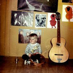 baby Kurt Cobain