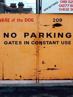 Dario Piacentini Photographer - NO Parking