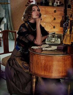 Elle Italia November 2016 - Arizona Muse - David Burton