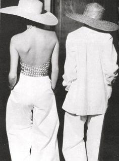 1970's fashion YSL