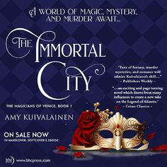In the heart of Venice, a woman is sacrificed to a forgotten god, sparking a mystery lost for thousands of years. Chapters Indigo, Murder Mysteries, Serial Killers, The Magicians, Venice, Novels, City, Heart, Books