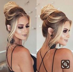 Beautiful simple and chic hairstyles for this summer - Frisuren Trend Hot Hair Styles, Medium Hair Styles, Natural Hair Styles, Wedding Bun Hairstyles, Chic Hairstyles, Simple Hairstyles, Fast Hairstyles, Chignon Simple, Hair Trends