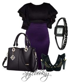 A fashion look from May 2017 featuring purple skirt, black heeled sandals and man bag. Browse and shop related looks. Polyvore Fashion, Fashion Outfits, Shoe Bag, Clothing, Stuff To Buy, Accessories, Shopping, Shoes, Collection