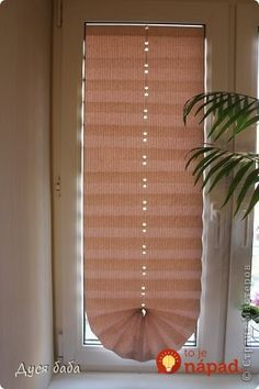 Blinds of paper / Amazing Handmade Perfect Wallpaper, Of Wallpaper, Vibeke Design, Rubrics, Stores, Easy Crafts, Blinds, Paper Crafts, Curtains