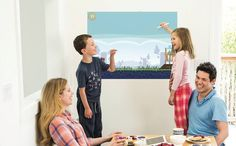 Throw some fun on the wall that you don't have to clean up ☺️ #IWantPond #gotouchjet #ILovePond