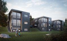 Die 578 Besten Bilder Von Moderne Holzhauser Modern Wood House
