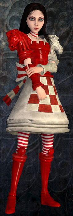 Checkmate dress from Alice: Madness Returns Alice Madness Returns, Lewis Carroll, Go Ask Alice, Alice Liddell, Chesire Cat, Alice In Wonderland Costume, Disney, Were All Mad Here, Red Queen