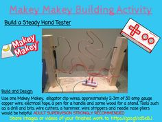 Makey Makey Building Activities - TLDSB Coding