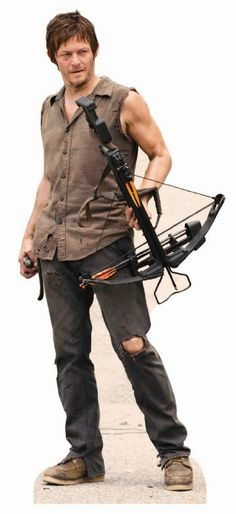 The Walking Dead, Daryl Dixon Life-Size Stand Up Cutout Poster-Sold by HollywoodProp