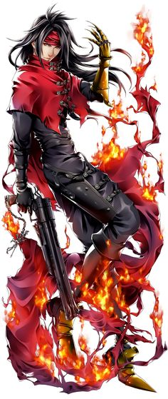 Tagged with games, final fantasy, final fantasy vii, final fantasy anime dump; Final Fantasy 7 Dump Part 2 Final Fantasy Series, Arte Final Fantasy, Final Fantasy Collection, Final Fantasy Artwork, Final Fantasy Characters, Video Game Characters, Final Fantasy Tattoo, Manga Anime, Vincent Valentine