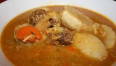 A Heavenly Caribbean Oxtail Soup.