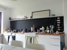 Küchenzeile ohne Oberschränke