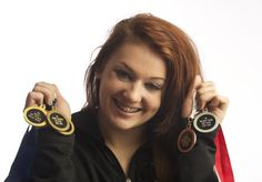 Heritage senior, Britni Atwell, is All-Region gymnast of the year