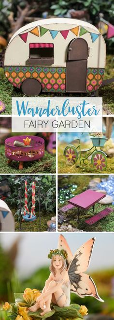 Everything the wanderlust fairy needs!