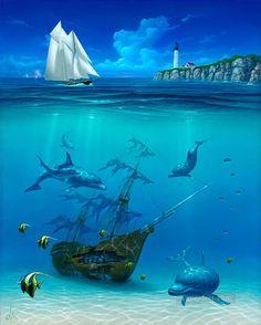 4-Sail-Away-under-sea.jpg (842×1050)