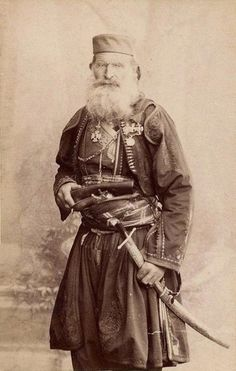 Bogdan Zimonjić, a Serb Orthodox Priest, Warrior and a Rebel Leader from Herzegovina, circa 1900