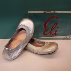 Bailarinas de Eli-papanatas en plata y oro  Del 24 al 40 -> desde 49€ ¡¡ENVÍO GRATUITO!!