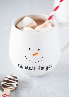 Share Tweet Pin Mail Make these cute Christmas mugs for gifts or just as a decoration – easy to make using Sharpie oil based ...
