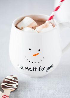 handmade christmas mugs - Cute Christmas Captions