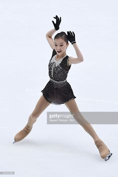 News Photo : Elizabet Tursynbaeva of Kazakhstan competes in...