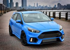 2016 Ford Focus RS with New York skyline Prototype pre-production #FocusRS
