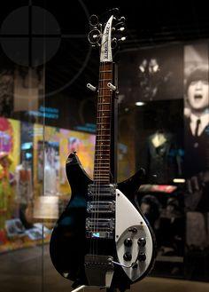 The Beatles and Beyond – John's Guitars John Lennon Guitar, Beatles Guitar, Music Guitar, Cool Guitar, Playing Guitar, Acoustic Guitar, The Beatles, Guitar Logo, Beatles Photos