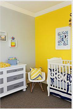 Habitación en amarillo