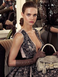 Natalia Vodianova for Louis Vuitton