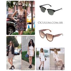 Affordable, competitive with the European market and optimal conditions of payment, oculum is also a reference in fashion, with offers of almost simultaneous releases to Europe, under careful selection of authentic models with guarantee certificate and invoice. For More Information: http://oculum.com.br/