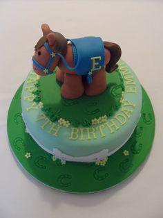 Children's Pony Birthday Cake #cavendishcakes