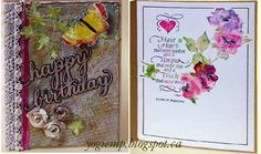 Mixed Media, paste embossing, Dreamweaver & Tim Holtz  stencils, die cuts, eCuts and newest Quote stamp from Quietfire Design. - http://yogiemp.blogspot.ca/2015/01/mc-jan15-mixed-media-have-heart-hb.html