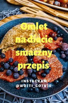 Pyszny przepis na omleta #omlet #przepisy #omlety #smacznie #zdrowejedzenie #zdroweodżywianie #fit #food Acai Bowl, Breakfast, Fitness, Instagram, Food, Diet, Acai Berry Bowl, Breakfast Cafe, Essen