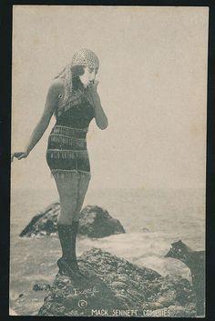 1921 Exhibit Supply Co Mack Sennett Comedies Bathing Beauty, eBay