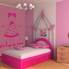 1000 images about vinilos decorativos infantiles on for Vinilos para nenas
