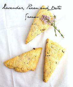 lovely. lavender, pecan and date scones from heartbeetkitchen.net @Amanda   heartbeet kitchen