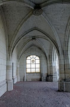 Freaky to find this picture.  I've sung under those arches! - Amboise