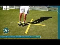PÁDEL - JUEGO DE PIES - Coordinación y agilidad #12 - YouTube