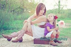 Mother and Daughter Photo Session <3