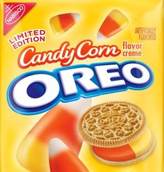 Candy Corn Oreos! How have i never seen these before??
