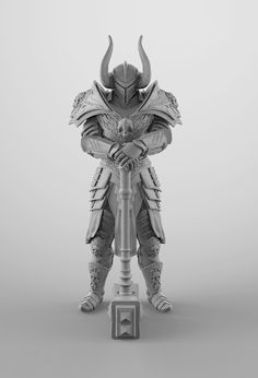 Knight concept done with ZBrush and finished in Photoshop.