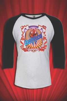 Dokken 1987 Vintage Tee Tour jersey T-SHIRT FREE SHIP USA Back for the Attack #Handmade #Assorted