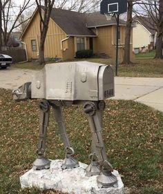 AT-AT Walker Mailbox