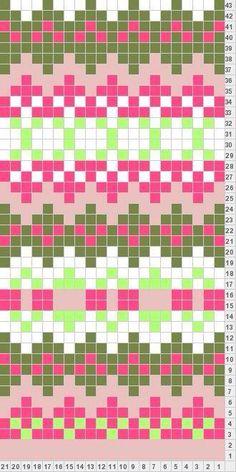 Tricksy Knitter by Megan Goodacre: Girly Fair Isle - knitting Fair Isle Knitting Patterns, Fair Isle Pattern, Bead Loom Patterns, Knitting Charts, Knitting Stitches, Knitting Designs, Knitting Projects, Crochet Patterns, Sock Knitting