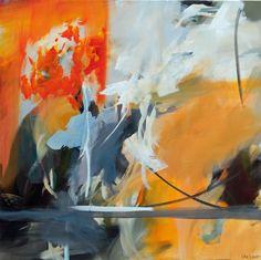 Eine Handvoll Zeit, 2014 - Acryl/LW (100x100 cm)