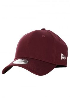 New Era - Flag Collection 39Thirty Maroon - Cap - Streetwear Shop - Impericon.com UK