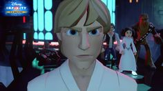 Disney Infinity 3.0 Luke vs Darth Fener Final Fight