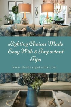 Lighting choices can be tough, but The Design Twins break it down and make it easy so you can be successful in all your lighting design decisions. Lighting Design, Lighting Ideas, Home Decor Inspiration, Decor Ideas, Farmhouse Lighting, Winter House, Home Look, Farmhouse Style, Modern Farmhouse
