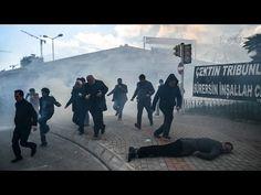 La policía turca reprimió violentamente en Ankara una manifestación de a...