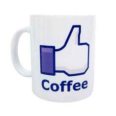 Caneca Like Coffee - Presentes Criativos
